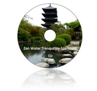 Zen Water Tranquillity Spa Music CD-Calming Relaxation Meditation Mind of Spirit