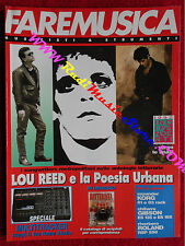 Rivista FARE MUSICA 134/1992 Lou Reed P.J. Harvey Pearl Jam Annie Lennox No cd