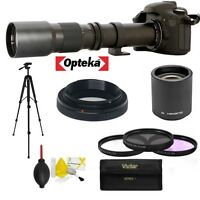 500-1000MM HD 1080P TELEPHOTO ZOOM LENS FOR CANON REBEL EOS XS XSI XT XTI T1 T2