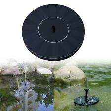 Solar Water Pump Fountain Garden Pond Power Panel Kit Pool Submersible Watering