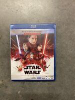 Star Wars: The Last Jedi Blu-ray Disc/Digital Copy, 2018, 2-Disc Set Brand New
