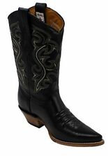 Men's Genuine Leather Western Cowboy Boots Style 80106