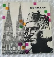 Germany Travel Brochure Tourist Guide 1969 with map