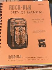 Rock-ola Models 1422 1426 1428 Jukebox Service Manual Rmc Amr No. R-229