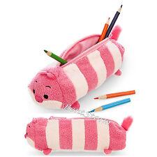 """8"""" Cheshire Cat Alice Wonderland ''Tsum Tsum'' Plush Pencil Case Cosmetic Bag"""