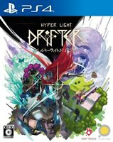 Used PS4 Hyper Light Drifter PlayStation 4 JAPAN OFFICIAL IMPORT