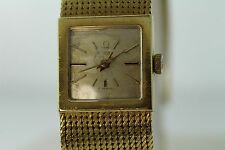 VINTAGE OMEGA 18K YELLOW GOLD WOMEN WATCH