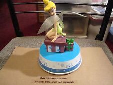 Disney's Tinkerbell Music Rotating Box Musical Battery Operated Excellent