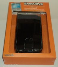 EXECUTIVE Smartphone  LEATHER Case For MOTO Q  With Belt Clip BLACK NIP