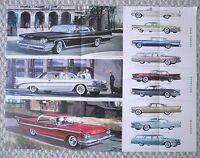 1959 Chrysler Brochure / POSTER: WINDSOR, NEW YORKER, SARATOGA,T&C Station Wagon