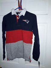New England Patriots NFL football  Pats rugby Shirt fan apparel NEW - Youth M