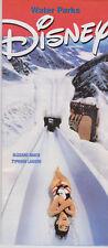 Original Disney World Florida 2003 Water Parks Guide / Pamphlet / Leaflet MINT