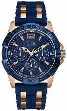 GUESS Blue Stainless Steel Mens Watch U0366G4