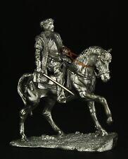 Hernan Cortes on horseback KIT Tin toy soldier 54 mm. metal