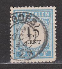 Port nr 9 TOP CANCEL GOES NVPH Nederland Netherlands due portzegel 1881