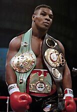 Mike Tyson Art Poster Wall Art WBC Heavyweight Boxing Champ - NEW - 11x17 13x19