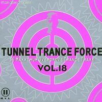 Tunnel Trance Force 18 (2001) DJ Darkzone, Mario Lopez, Kai Tracid.. [2 CD]