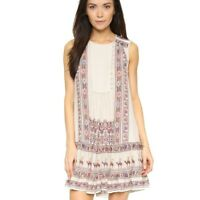 BCBGMAXAZRIA Yulissa Dress Sleeveless Mini Printed Women Small S