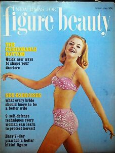 New Ideas for Figure Beauty Magazine Spring 1966 Yoga Weight Watchers