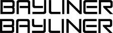 Bayliner Boat Car Trailer Bike Sign vinyl sticker graphic wrap skin 2-set