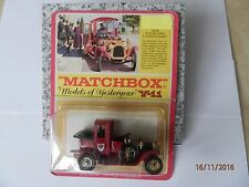 Matchbox Models of Yesteryear Y-11 PACKARD LANDAULET 1912