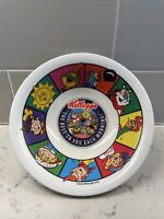 """Vintage 1996 Kellogg's Plastic Cereal Bowl """"The Best To You Each Morning!"""""""