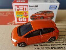 2015 -Tomica #66 -Honda Fit / Jazz - Orange limited colour - factory sealed box
