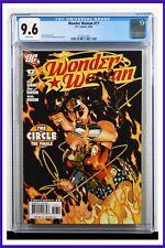 Wonder Woman #17 CGC Graded 9.6 DC April 2008 White Pages Comic Book.