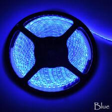 5M 3528 SMD RGB LED Tira de Luz Flexible DC12V Luz de Cuerda Interior Exterior