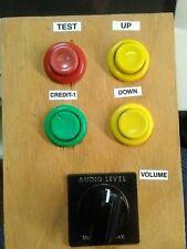 lazer-tron solar stomp arcade redemption volume, audio control with buttons