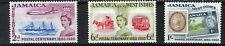 JAMAICA 1960 POSTAL CENTENARY SG178/180 BLOCKS OF 4 MNH