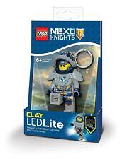 LEGO NEXO CABALLEROS Arcilla keylight-chain Linterna LED NUEVO 7.6cm ledlite