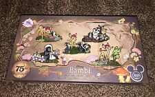 Disney D23 BAMBIE 75th Expo Exclusive Pin Set 2017 Le 300 Sold Out!