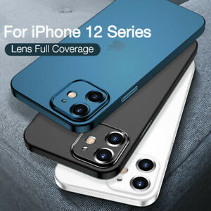 Ultra Thin PP Case Matte Clear Cover For iPhone 12 Pro Max 11 X XR XS 8 7 Plus