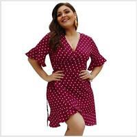 Sundress Evening Beach Floral Summer Party Plus Size Dress Boho Womens Maxi