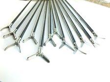 Addler Laparoscopy Grasper  and  Scissor Set Of 12 Without Handle