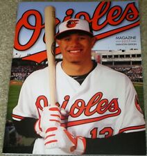 2017 BALTIMORE ORIOLES MAGAZINE/ PROGRAM SARASOTA EDITION MANNY MACHADO ON COVER