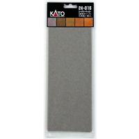 Kato 24-016 Papier Paysage Type Graviers / Scenery Paper Gravel Type 5pcs - N&HO