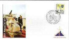 941-  FDC VATICAN VISITE PAPE JEAN PAUL II  EN  SLOVAQUIE