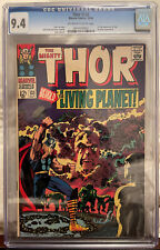 Thor #133 CGC 9.4 OW/W - 1st Full Apperance of Ego; 1st Count Tagar