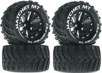 Duratrax 2.8 Mounted Hatchet MT Tires Wheels 4WD Stampede Savage XS Flux F / R