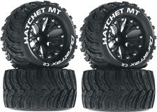 Duratrax 2.8 Mounted Hatchet MT Tires Wheels 4WD Stampede Savage XS Flux F / R