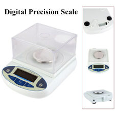 1 Pc Analytical Balance 500 x 0.001g 1mg Lab Digital Precision Electronic Scale