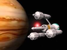 1978's BLAKE'S 7 Liberator spaceship Jupiter flyby color 8x10 photo