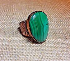 Jay King Malachite Ring DTR Copper Size 6