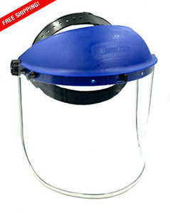 BRUFER 223102 Full Face Shield Mask for Grinding, Construction, General Manufact