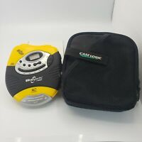 Audiophase UltraSports DM9905 Portable CD Player w/ Digital AM/FM Tuner  -Tested