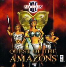 The Settlers III 3 Quest Of The Amazons PC CD conquer civilizations game add-on!