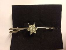 "Sheriff Badge The Law TG593  Pewter Scarf and Kilt Pin Pewter 3"" 7.5 cm"