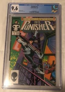 The Punisher #1, cgc 9.6, clean case